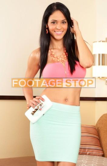 Latina-woman-beautiful-lifestyle-portrait-stock-photo