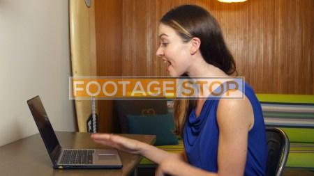 millennial-business-woman-traveling-stock-video