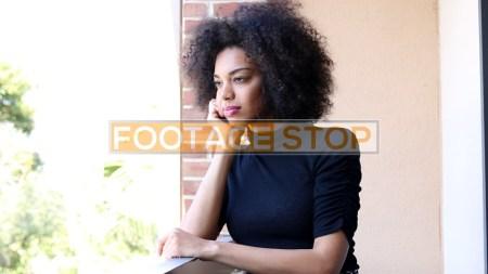 sad-african-american-millennial-woman-stock-video-footage
