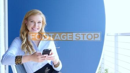 millennial-business-woman-stock-video-footage