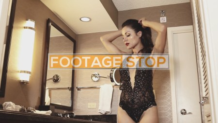 latina-sexy-lingerie-woman-stock-video-footage
