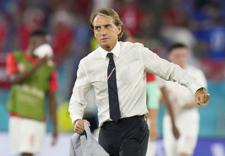 Mancini: 'Italy always play to win with Wales' - Football ...