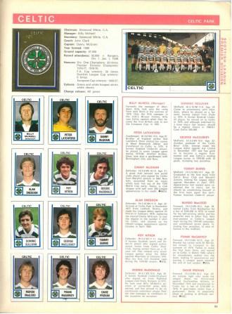Celtic 1981