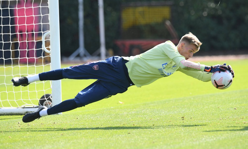 https football talk co uk 159249 photos new signing trains at london colney after completing move to arsenal