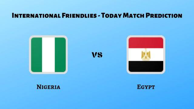 Nigeria vs Egypt