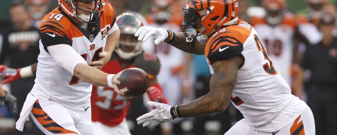 Cincinnati Bengals 2017 Fantasy Football Preview Football Absurdity