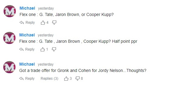 hot NFL takes