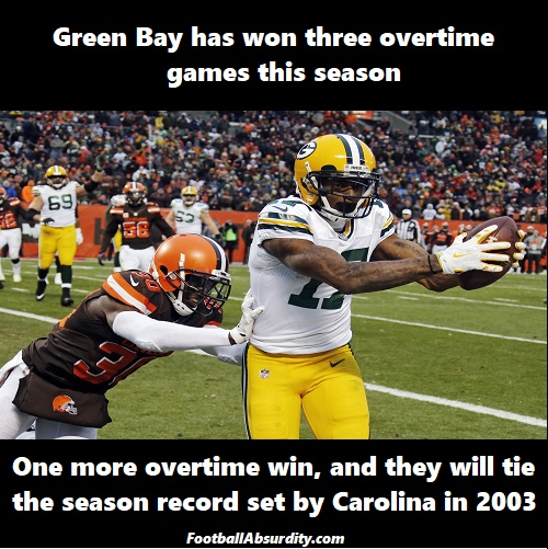 Packers Browns
