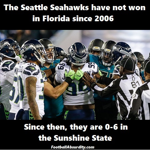Seahawks Jags