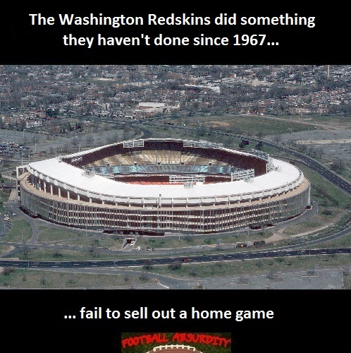 Fact about Washington Home sellouts