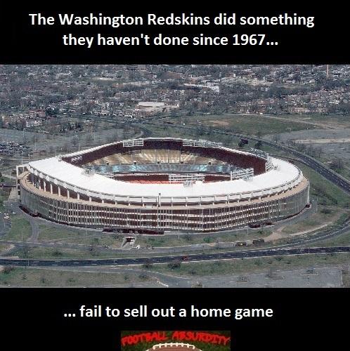 Fact about Washington Home sellouts