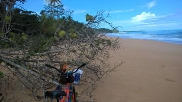 Bikes don't move on beaches