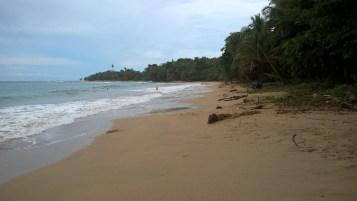 A quite beach in Punta Uva
