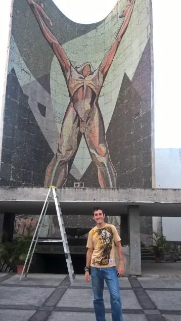 Interesting mural