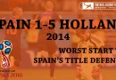 3/30 | Spain 1-5 Netherlands – The Dutch avenge in astounding fashion