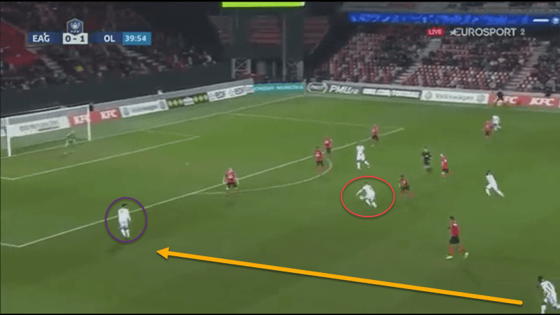 Coupe de France 2018/19: Guingamp vs Lyon Tactical Analysis Statistics
