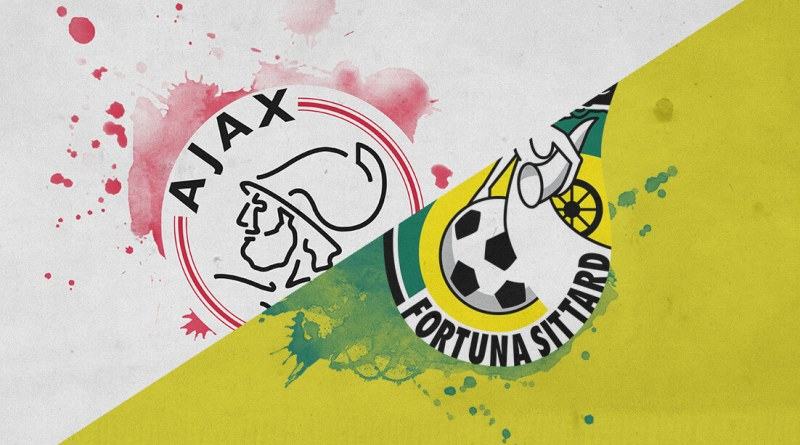 Eredivise 2018/19@ Ajax vs Fortuna Sittard Tactical Analysis Statistics