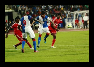 Blackburn Rovers playing in the India Cup
