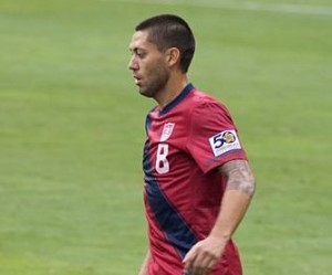Clint Dempsey scored a hat-trick for Fulham in their 5-2 win against Newcastle United