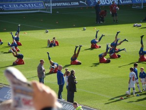 Crystal Palace and Cardiff City players were thrilled to play in a match that resembled El Clasico.