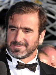 Former Manchester United star Eric Cantona looks well dapper in a bowtie.