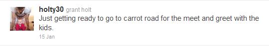 Grant Holt Carrot Road