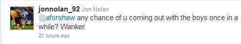 Jon Nolan Adam Forshaw