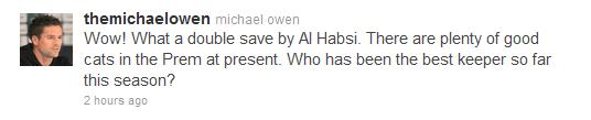 Michael Owen Ali Al-Habsi
