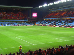 Villa Park, home of Aston Villa fans