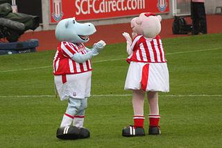 The Stoke City Mascots
