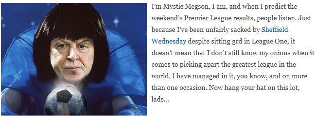 Mystic Megson predicts: Stoke City v Norwich City
