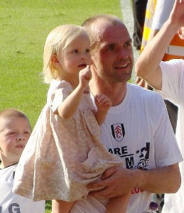 Fulham fans pay tribute to Danny Murphy