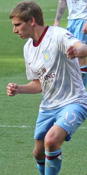 Marc Albrighton of Aston Villa