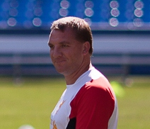 Reds boss Brendan Rodgers