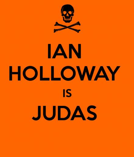 Ian Holloway is Judas