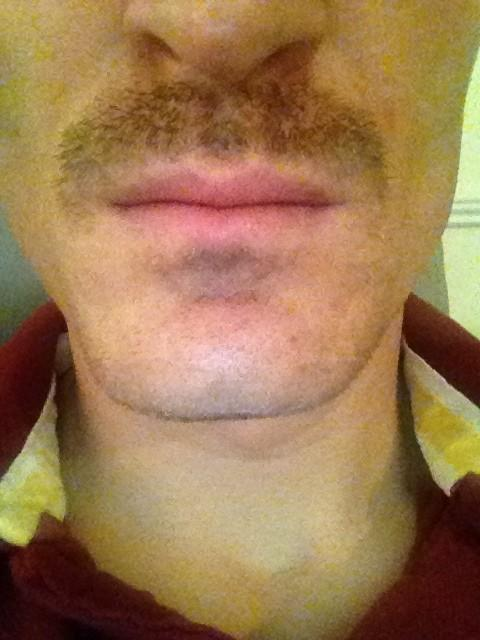 Robert Huth's Movember moustache on day six
