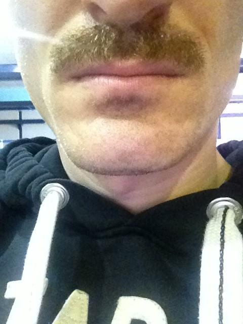 Robert Huth's Movember moustache in week three