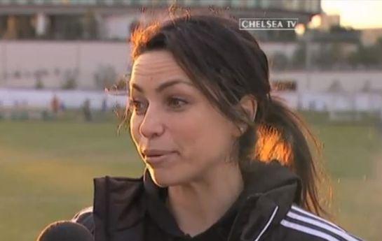 Eva Carneiro interviewed on Chelsea TV