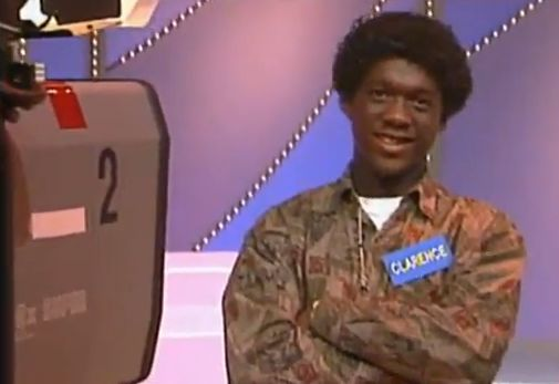 Clarence Seedorf appears on a Dutch TV gameshow