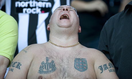 Newcastle United fan