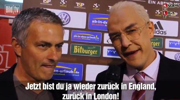 Matze Knop Jose Mourinho Interview