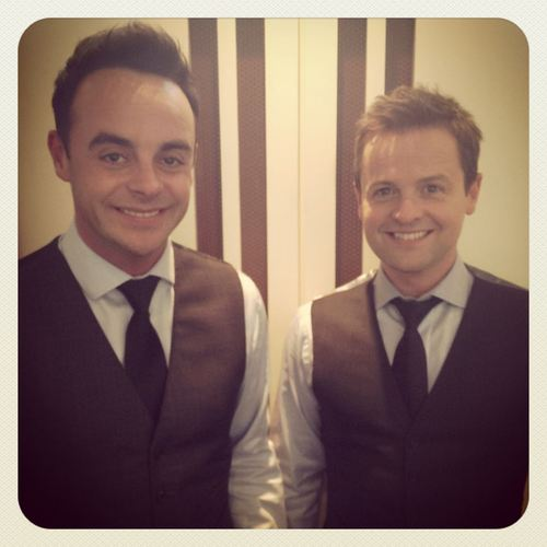 "Ant and Dec, who told Joe Kinnear to ""shut up"" on Twitter"