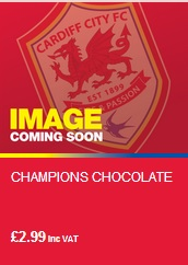 Cardiff City Champions Chocolate