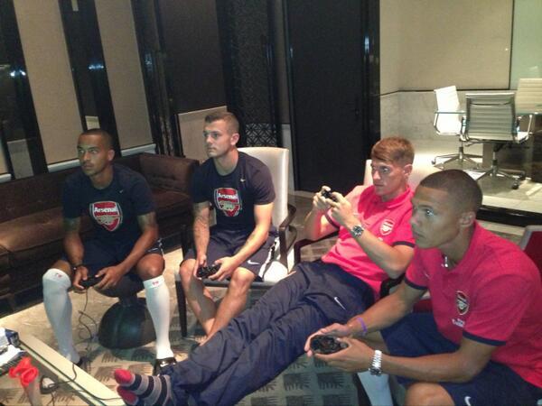 Arsenal FIFA session