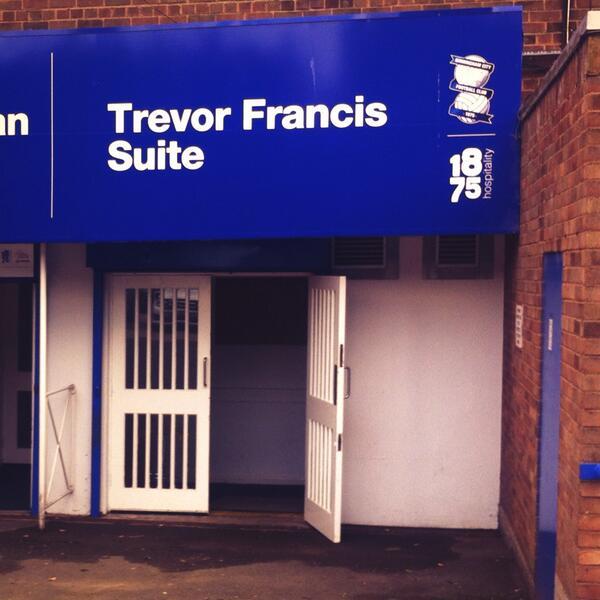 Trevor Francis Suite