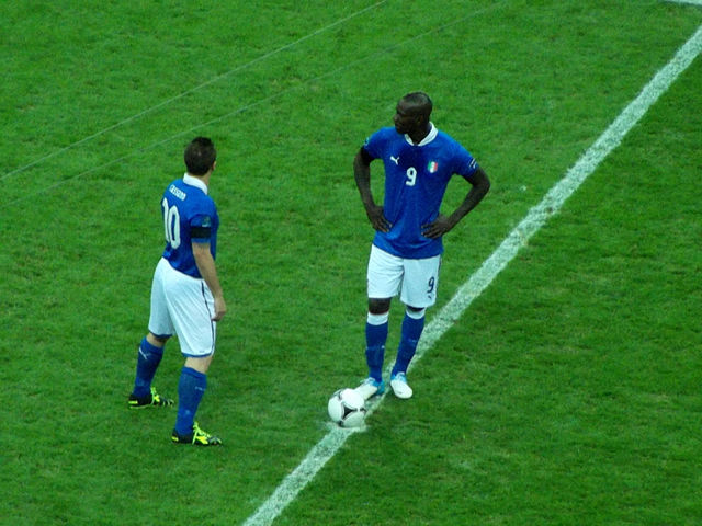 The Mario Balotelli apology was written by this man (not Cassano)