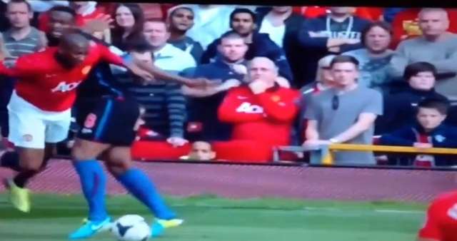 Ashley Young dive against Crystal Palace