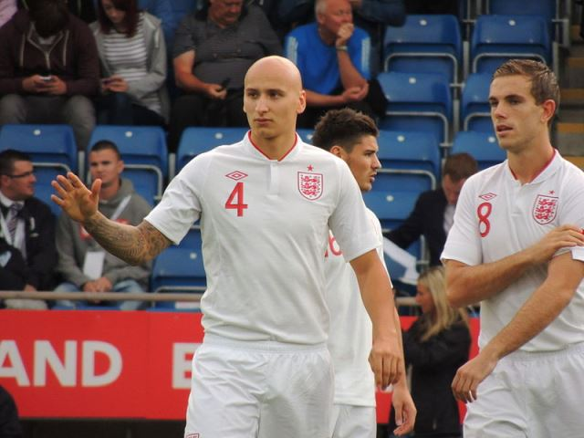 Jonjo Shelvey and Jordan Henderson