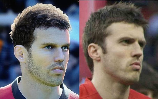 Michael Carrick, an example of one of the best PES 2014 faces