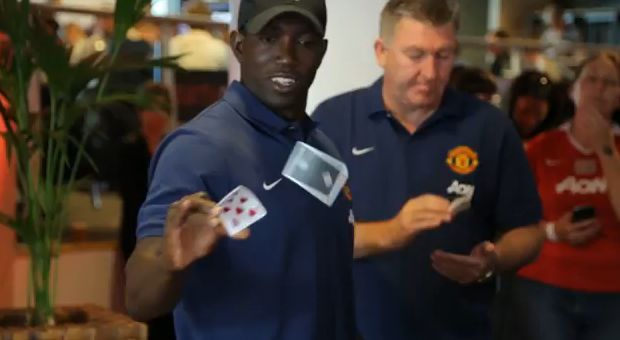 The Dwight Yorke card trick